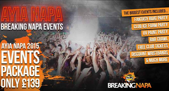 Breaking Napa Events Package