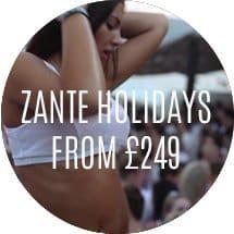 Zante Holidays From £249