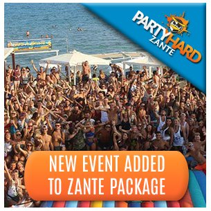 New Event Added to Zante Package