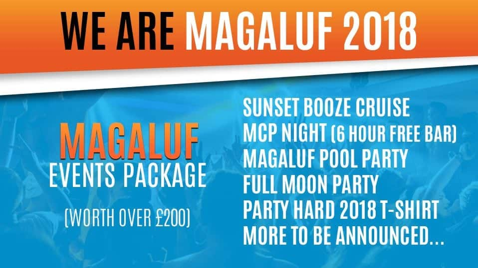 2018 Magaluf events package huge events best events in Magaluf