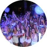 Kavos Quayside village white party