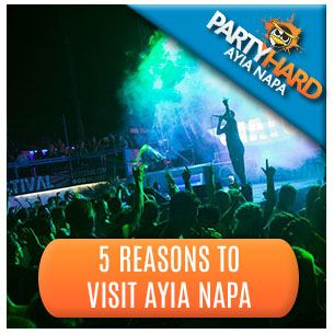 Top Club DJ's: Just One of Five Reasons to Visit Ayia Napa
