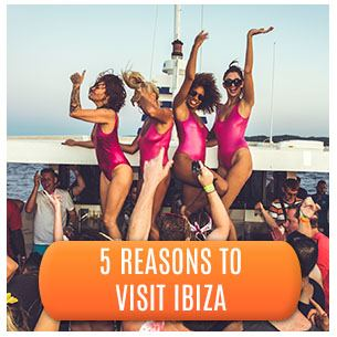 Partying on Booze Cruise and 5 Reasons to Visit Ibiza