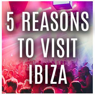 Girls Partying and Five Reasons to Visit Ibiza