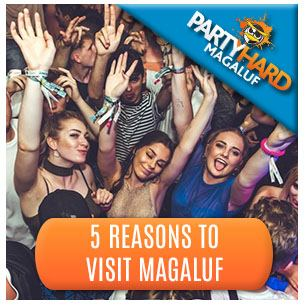 Revellers clubbing, one of the five top reasons to visit Magaluf