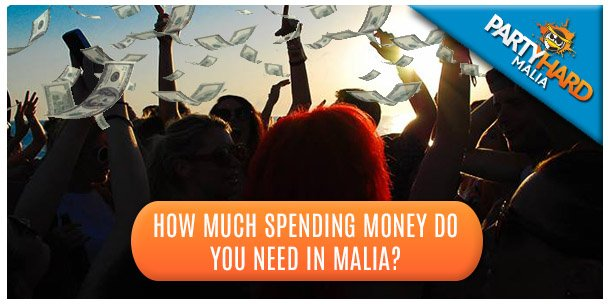 How much spending Money do you need in Malia