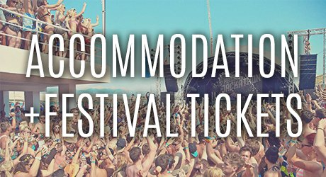 Accommodation Plus Festival Tickets