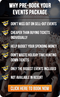 Info-Graphic: Why You Should Pre-Book Your Events Package