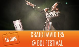 18th June: Craig David TS5 At BCL Festival