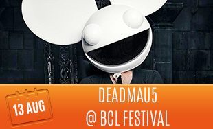 13th August: Deadmau5 At BCL Festival