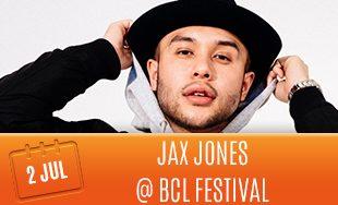 2nd July: Jax Jones at BCL Festival