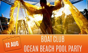 12th August: Boat Club ocean beach pool party