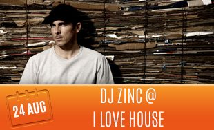 24th August: Low Steppa I Love House At Zig Zag