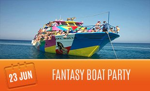 23rd June: Fantasy Boat Party