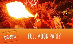8th June: Full Moon Party