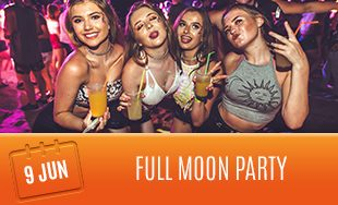 9th June: Full moon party