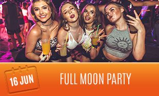 16th June: Full moon party