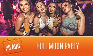 25th August: Full moon party