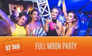 2nd September: Full Moon Party
