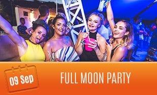 9th September: Full Moon Party