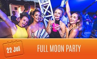 22nd July: Full Moon Party