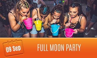9th September: Full Moon Party