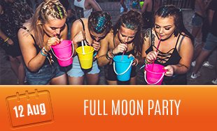 12th August: Full Moon Party