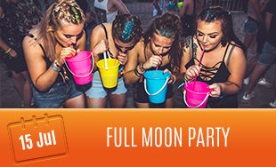 15th July: Full Moon Party