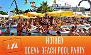4th July: Hotbed ocean beach pool party