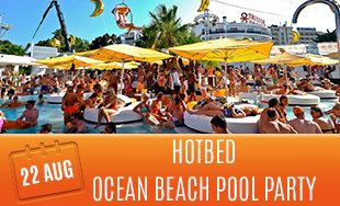 22nd August: Hotbed ocean beach pool party