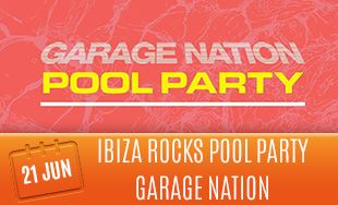 21st June: Ibiza rocks pool party DJ luck and MC neat