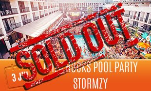 3rd July: Ibiza rocks pool party Stormzy