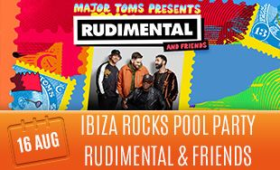 16th August: Ibiza rocks pool party Rudimental