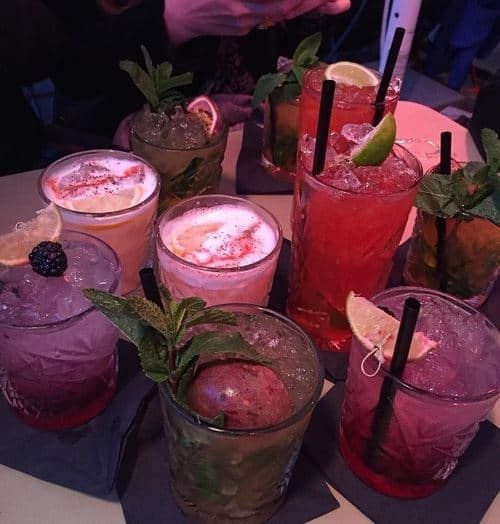 cocktails and drinks in malia