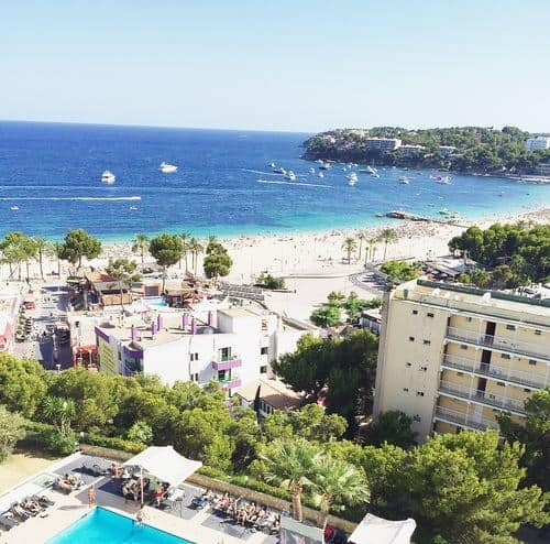 beach view of ocean 5 reasons to visit magaluf