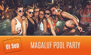 1st September: Pool Party