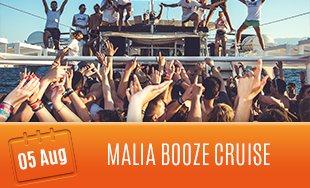 5th August: Malia Booze Cruise