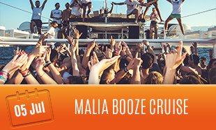 5th July: Malia Booze Cruise