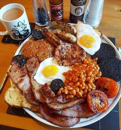 full english breakfast in malia