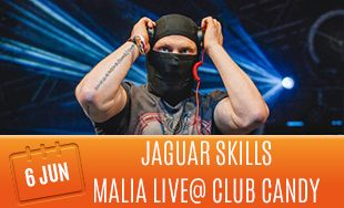 6th June: Jaguar Skills Malia Live At Club Candy
