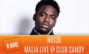 8th August: Not3s Malia Live