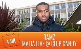 4th July: Ramz Malia Live