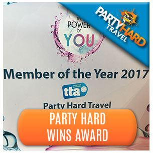 Party Hard Wins Award - TTA Member of the Year 2017