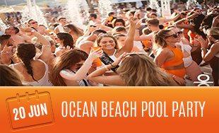20th June: Ocean Beach Pool Party