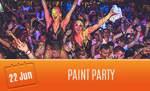 22nd June: Paint Party