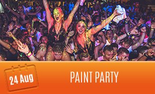 24th August: Paint Party
