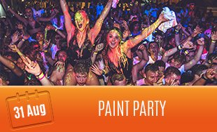 31st August: Paint Party