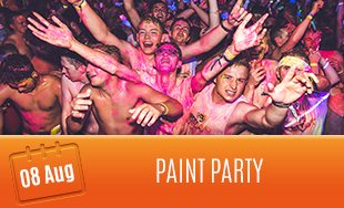 8th August: Paint Party