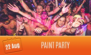 22nd August: Paint Party