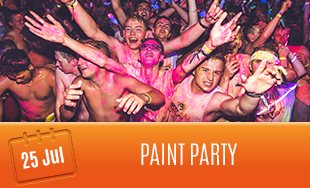 25th July: Paint Party